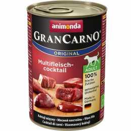 ANIMONDA GranCarno Orginal Adult puszki mieszanka czterech mięs 400 g