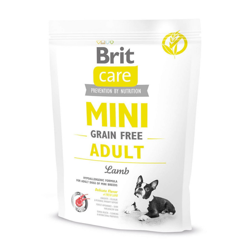 BRIT CARE MINI GRAIN-FREE ADULT LAMB 400 g