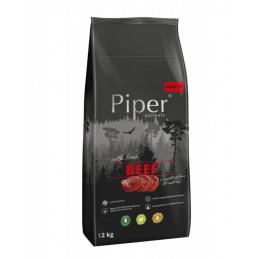 Dolina Noteci Premium PIPER ADULT Wołowina 12kg + KOŚĆ
