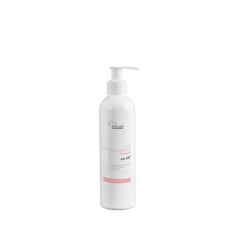 OVER ZOO Szampon dla Psa i Kota VET LINE Hypoallergenic Shampoo 250 ml