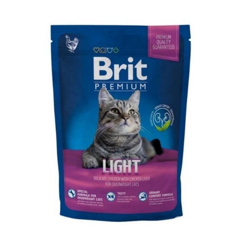 Brit Premium Cat Light KURCZAK 300 g