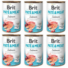 Brit Pate&Meat Salmon ŁOSOŚ...