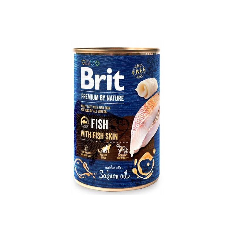 Brit Premium By Nature Fish & Fish Skin RYBY 400g