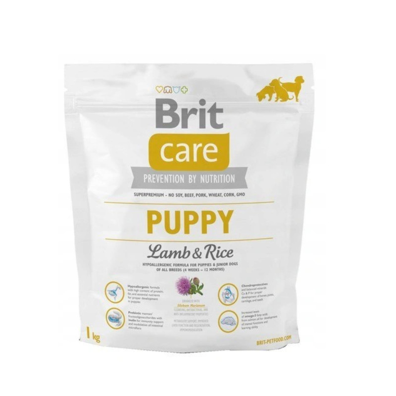 Brit Care PUPPY Jagnięcina LAMB & RICE 1 kg