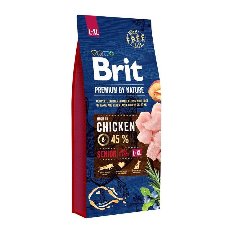 Brit Premium By Nature Senior L+XL Large + Extra Large 15kg