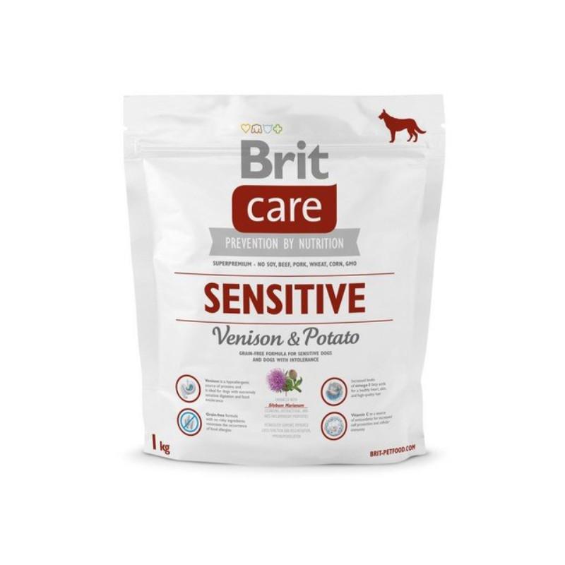 Brit Care Sensitive Venison & Potato DZICZYZNA 1 kg