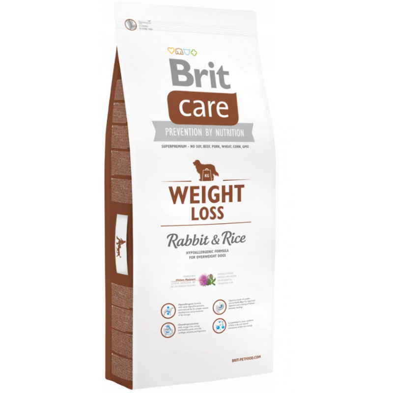 Brit Care Weight Loss Królik RABBIT & RICE 3 kg
