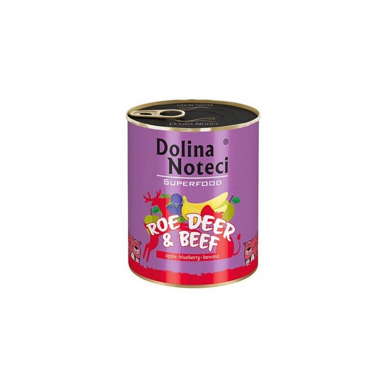 Dolina Noteci Premium Superfood SARNA I WOŁOWINA 800g