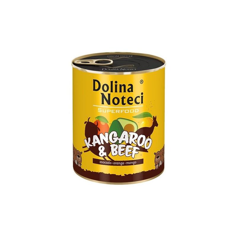 Dolina Noteci Premium Superfood KANGUR I WOŁOWINA 800g