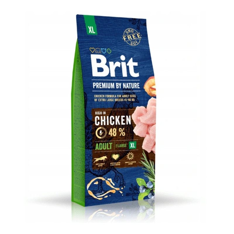 Brit Premium By Nature Adult XL Extra Large 15kg
