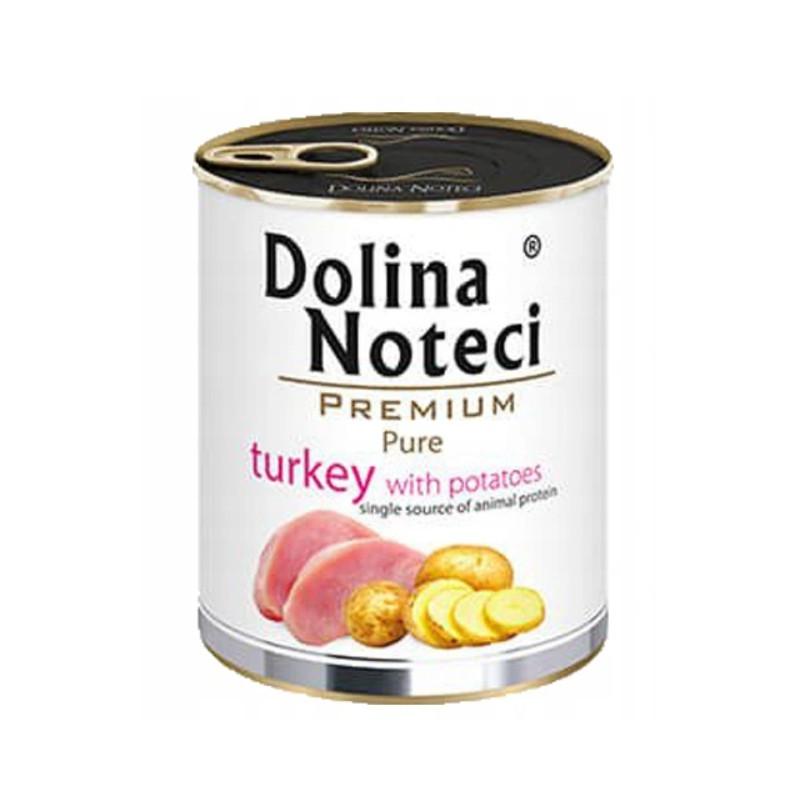 Dolina Noteci Premium Pure BOTA W INDYKA Z ZIEMNIAKAMI 800 g
