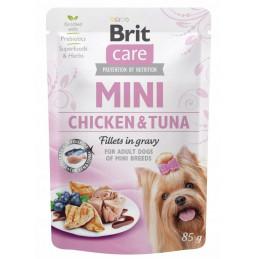 Brit Care Mini Fillets in Gravy MIX SMAKÓW 20x 85g