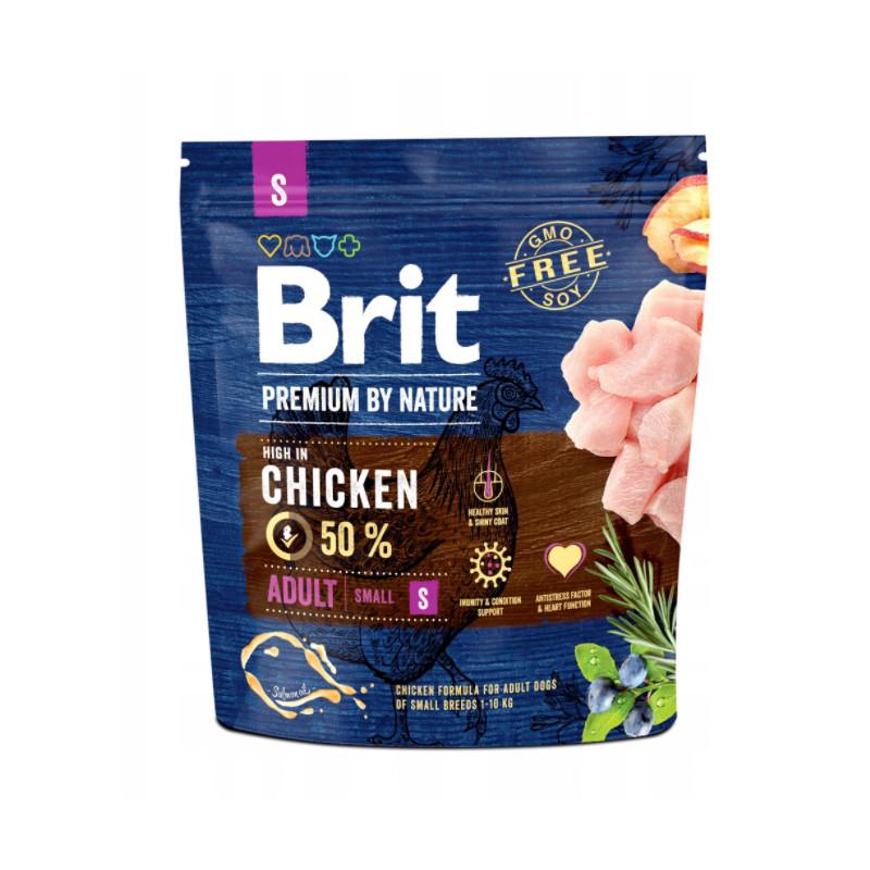 Brit Premium By Nature Adult S CHICKEN 1 kg