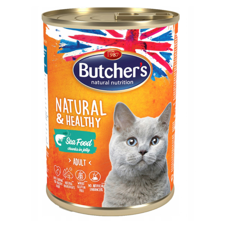 Butcher's Kot Natural & Healthy SEA FOOD 400g