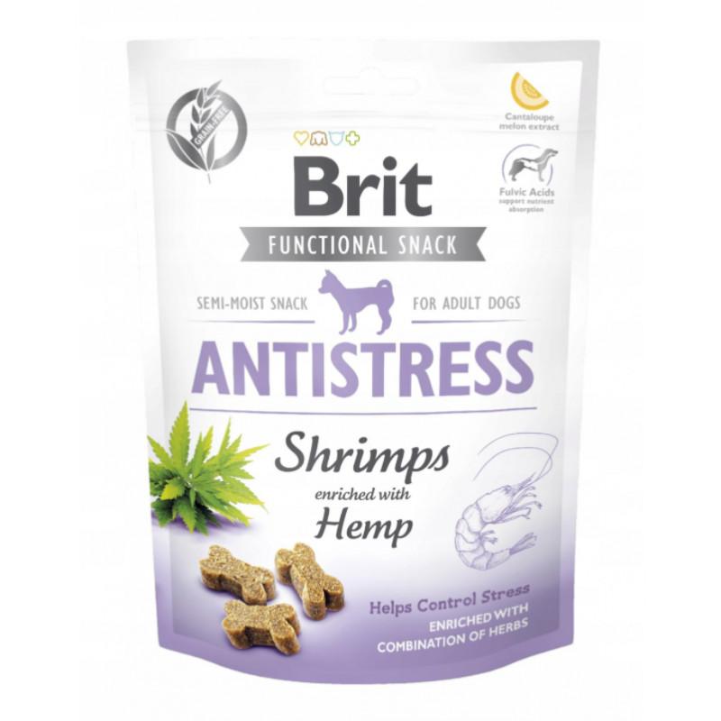 Brit Functional Snack Krewetki ANTISTRESS 150g
