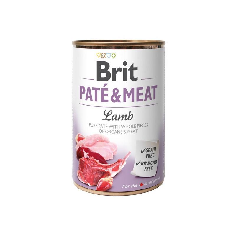 Brit Pate & Meat Dog Lamb JAGNIĘCINA 400g