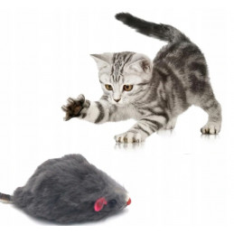Mysz z Grzechotką Zabawka dla Kota PETSTORY