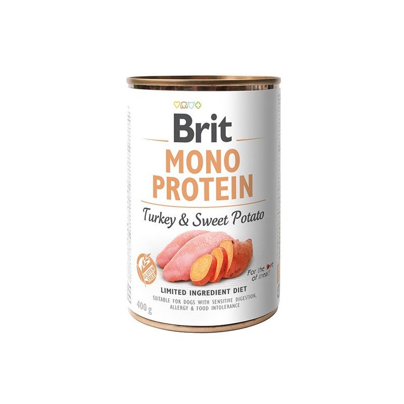 Brit Mono Protein Turkey & Sweet Potato INDYK 400g