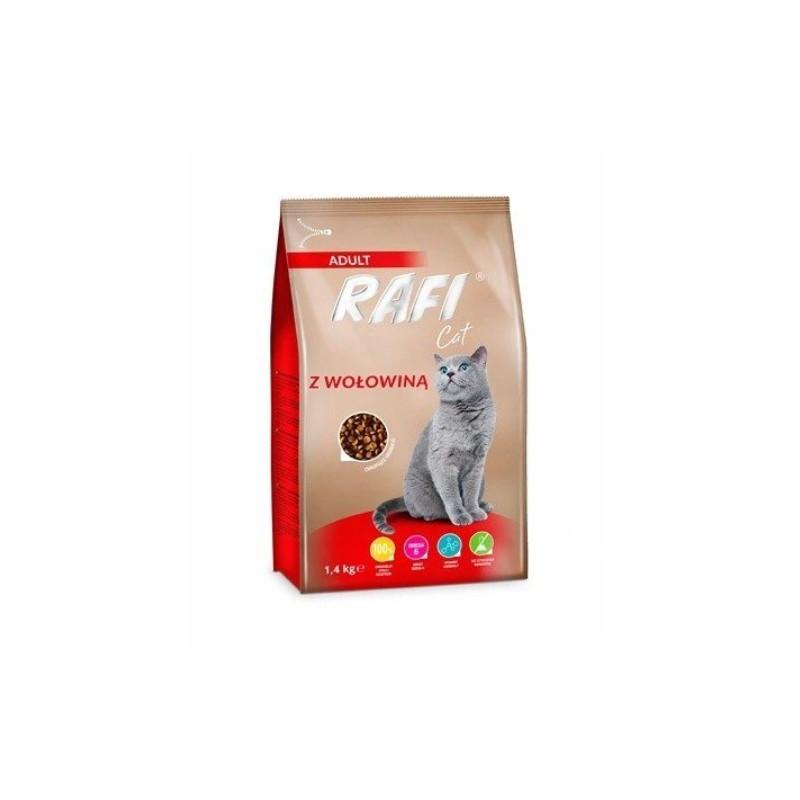 DOLINA NOTECI Rafi Cat Wołowina Sterilised 1,4kg