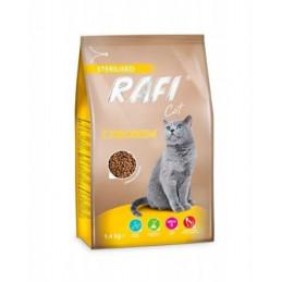 DOLINA NOTECI Rafi Cat Drób Sterilised 1,4kg