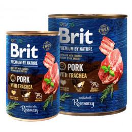 Brit Premium By Nature Pork & Trachea WIEPRZOWINA 400g