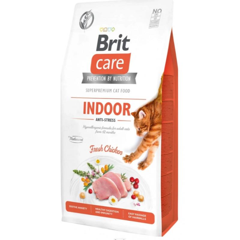 BRIT CARE CAT Grain-free INDOOR Anti Stress 7 kg
