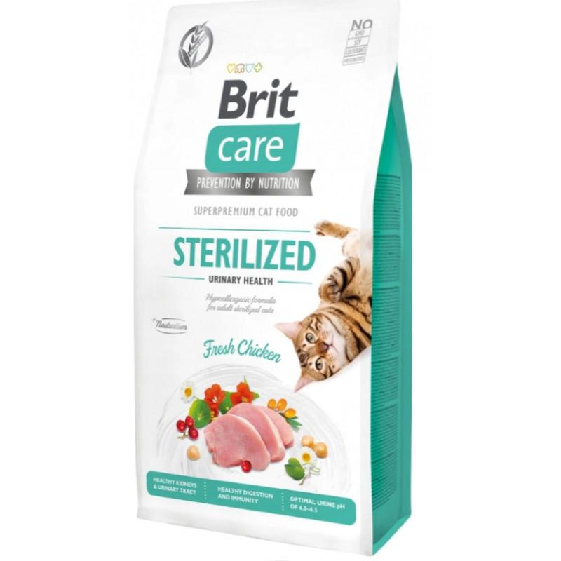 BRIT CARE CAT Grain-free Sterilized Urinary 7kg