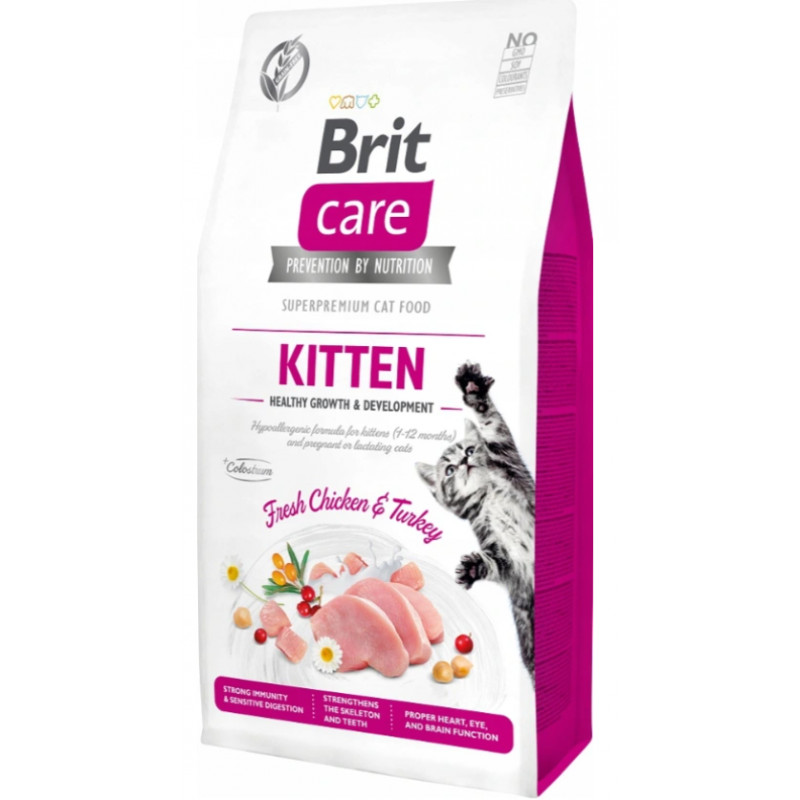 BRIT CARE CAT Grain-free Kitten DLA KOCIĄT 2kg