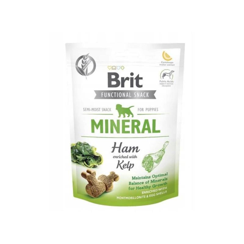 Brit Functional Snack dla Szczeniąt z Szynką MINERAL 150g