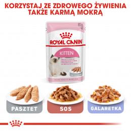Royal Canin Kitten - Karma Sucha dla Kociąt od 4 do 12 Miesiąca Życia 400g