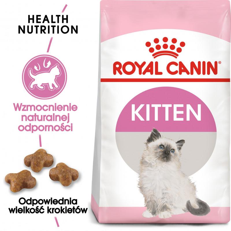 Royal Canin Kitten - Karma Sucha dla Kociąt od 4 do 12 Miesiąca Życia 2kg