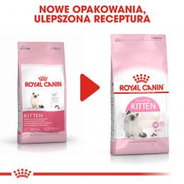 Royal Canin Kitten - Karma Sucha dla Kociąt od 4 do 12 Miesiąca Życia 4kg