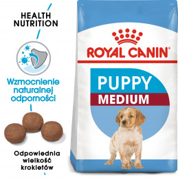 Royal Canin Medium Puppy -...