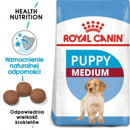 Royal Canin Medium Puppy - Karma Sucha dla Szczeniąt, Rasy Średnie 15kg