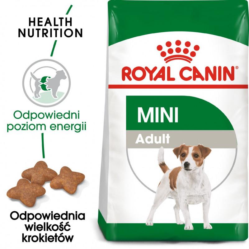 Royal Canin Mini Adult - Karma Sucha dla Psów Dorosłych, Rasy Małe 4kg