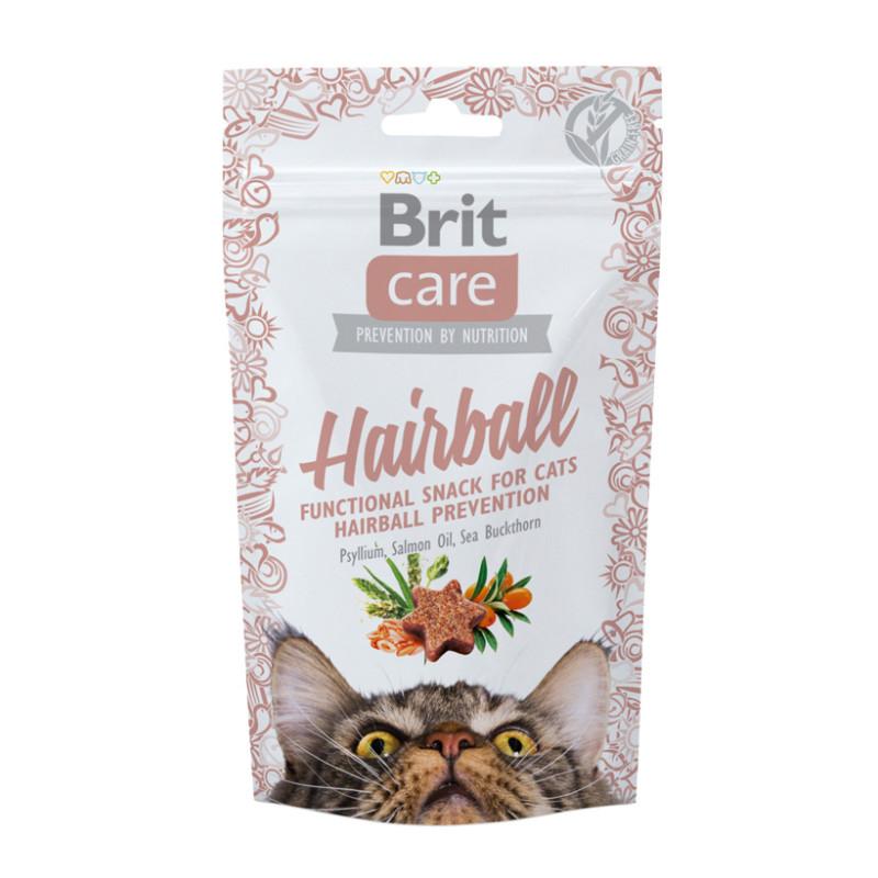 Brit Care Cat Przysmak Snack Hairball 50g