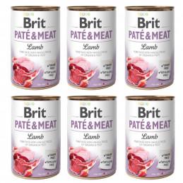 BRIT PATE&MEAT Lamb 400g...