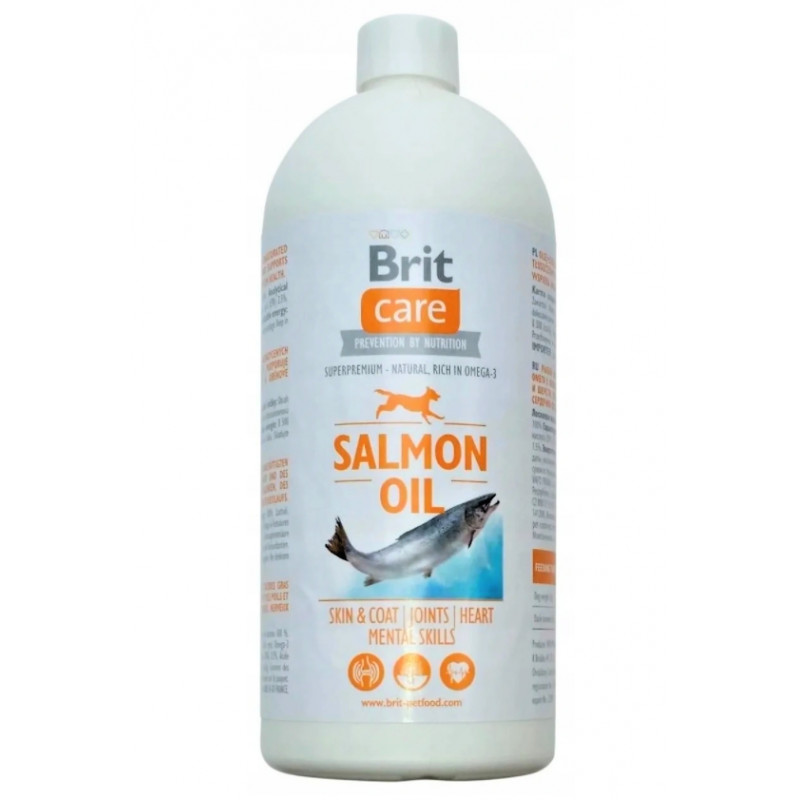 Brit Care Salmon Oil (100% olej z łososia) 1L