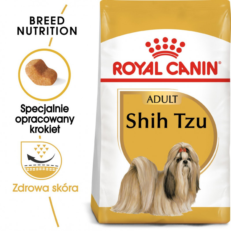 Royal Canin Breed Shih Tzu Adult - Karma Sucha dla Psów Dorosłych Shih Tzu 1,5kg