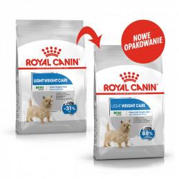 Royal Canin Mini Light Weight Care Adult - Karma Odchudzająca Rasy Małe, Psy Dorosłe 3kg