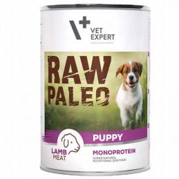VETEXPERT RAW PALEO Puppy Monoprotein JAGNIĘCINA 400g