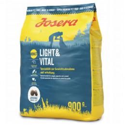 JOSERA Light&Vital ADULT Karma Sucha DRÓB Zestaw 5x 900g