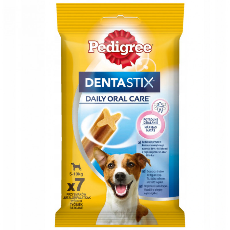 PEDIGREE DENTASTIX Przysmak Dentystyczny MAŁE RASY 110g (7szt)