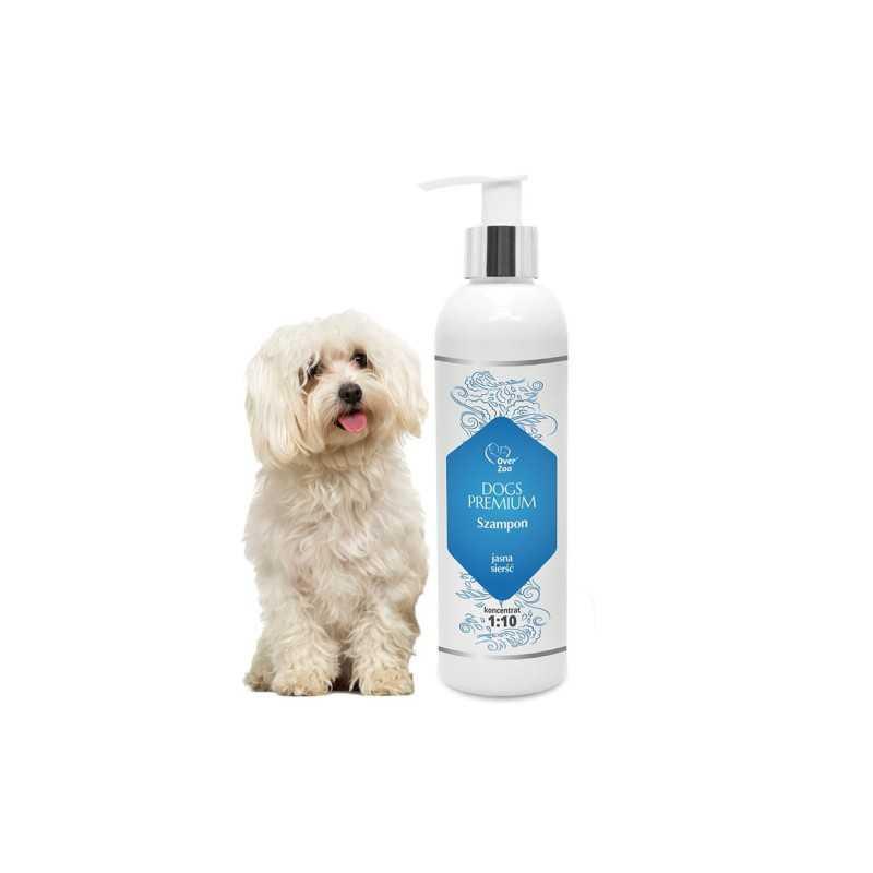 OVER ZOO Szampon Dogs Premium JASNA SIERŚĆ 250 ml