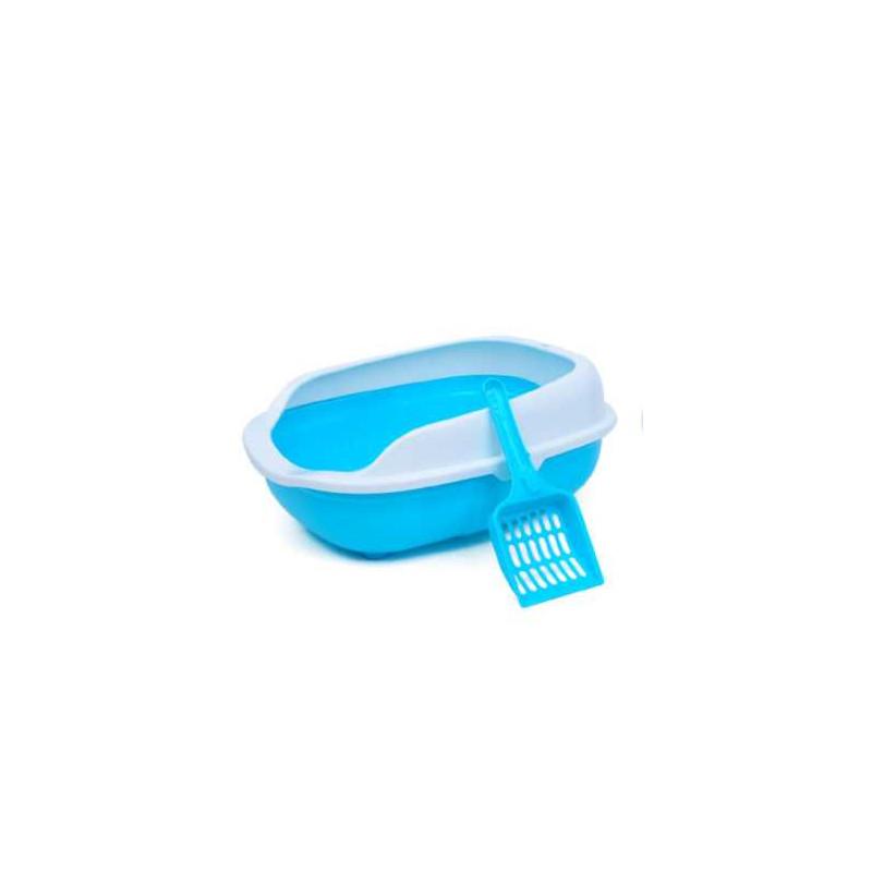 Kuweta dla Kota +Szufelka Łatwe Czyszczenie PETSTORY (Niebieski)