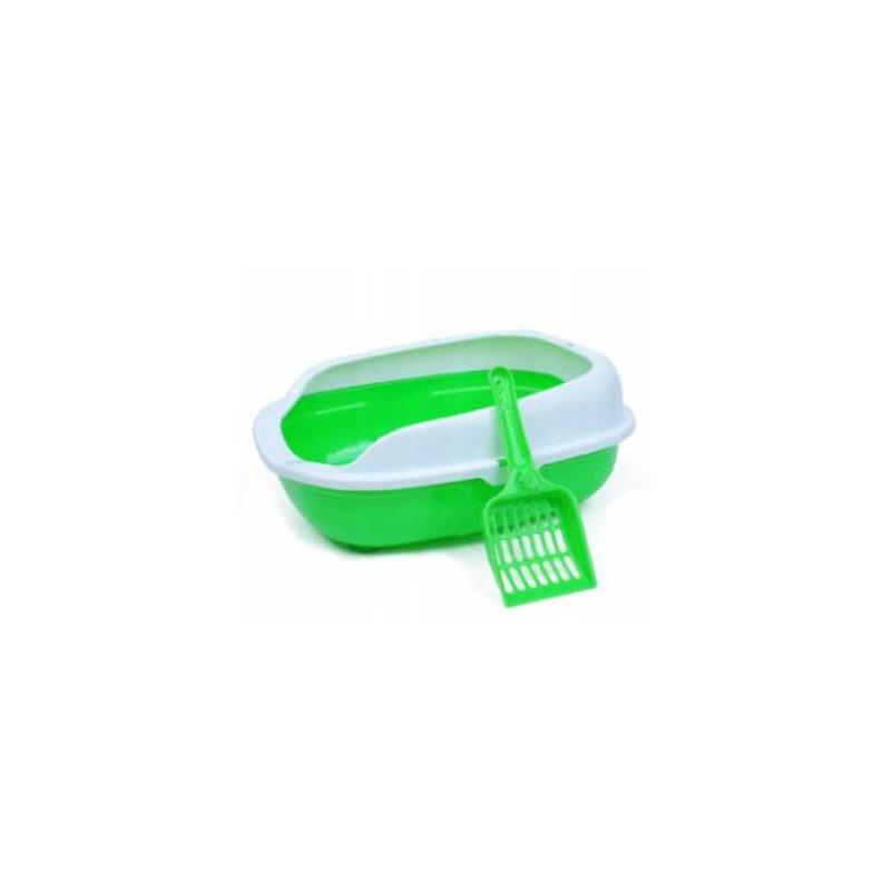 Kuweta dla Kota + Szufelka Łatwe Czyszczenie PETSTORY (Zielony)