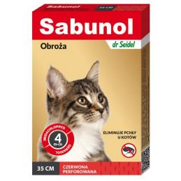 SABUNOL - Obroża Przeciw...