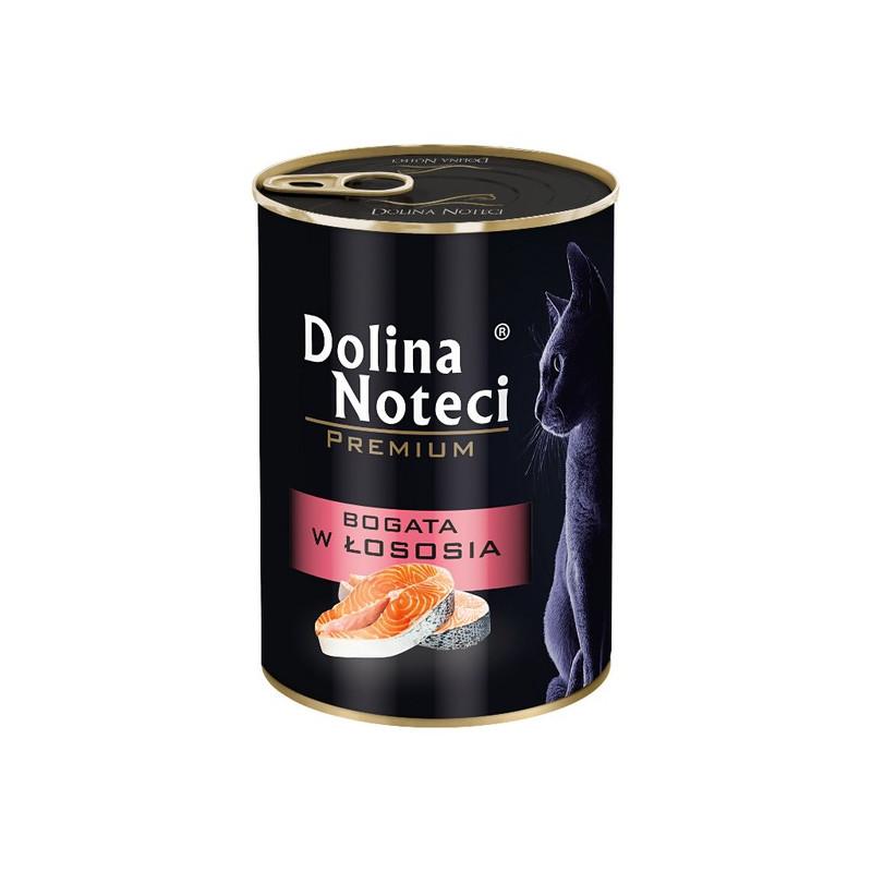 Dolina Noteci Premium Kot BOGATA W ŁOSOSIA 400g