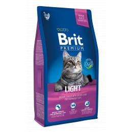 Brit Premium Cat Light KURCZAK 800g