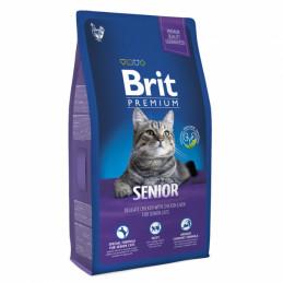 Brit Premium Cat Senior KURCZAK 300g